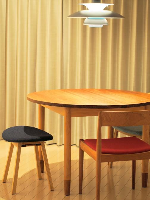 ハードメイプル×チーク テーブル