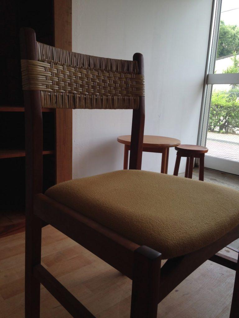 籐編み 椅子