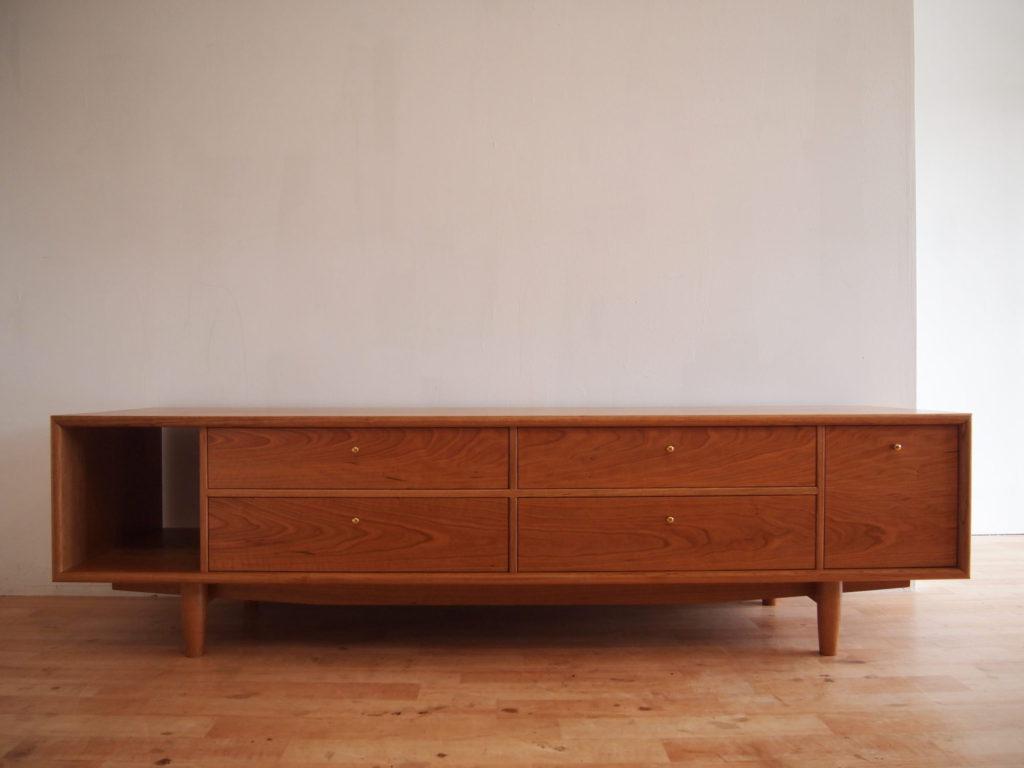 チェリー 真鍮 テレビボード