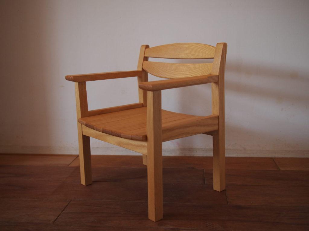 子供椅子 キッズチェア ホワイトアッシュ