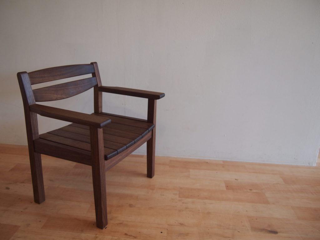 子供椅子 キッズチェア ウォルナット