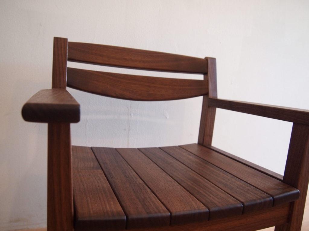 ウォルナット 子供椅子 キッズチェア