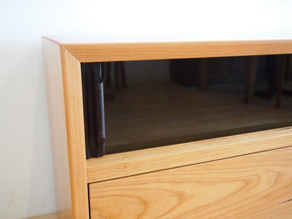 テレビボード ガラス