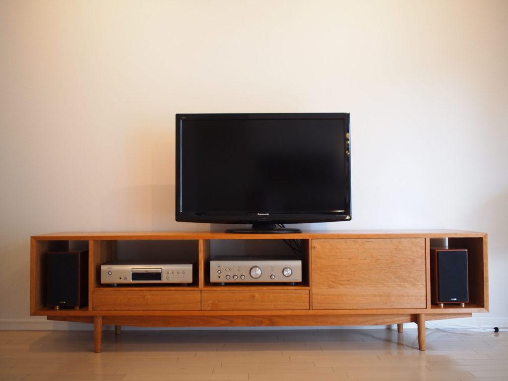 チェリー テレビボード 真鍮
