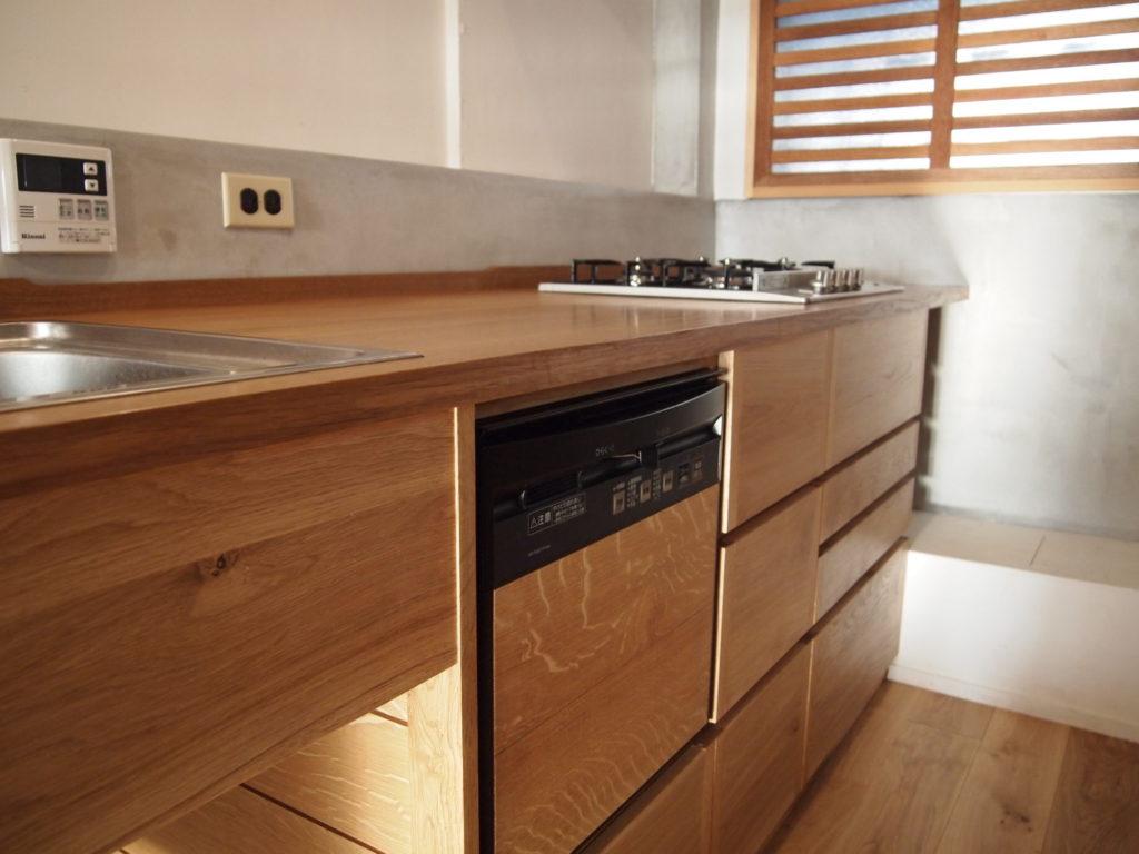 楢キッチン 食洗機