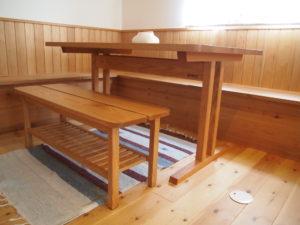 レッドオーク ダイニングテーブル