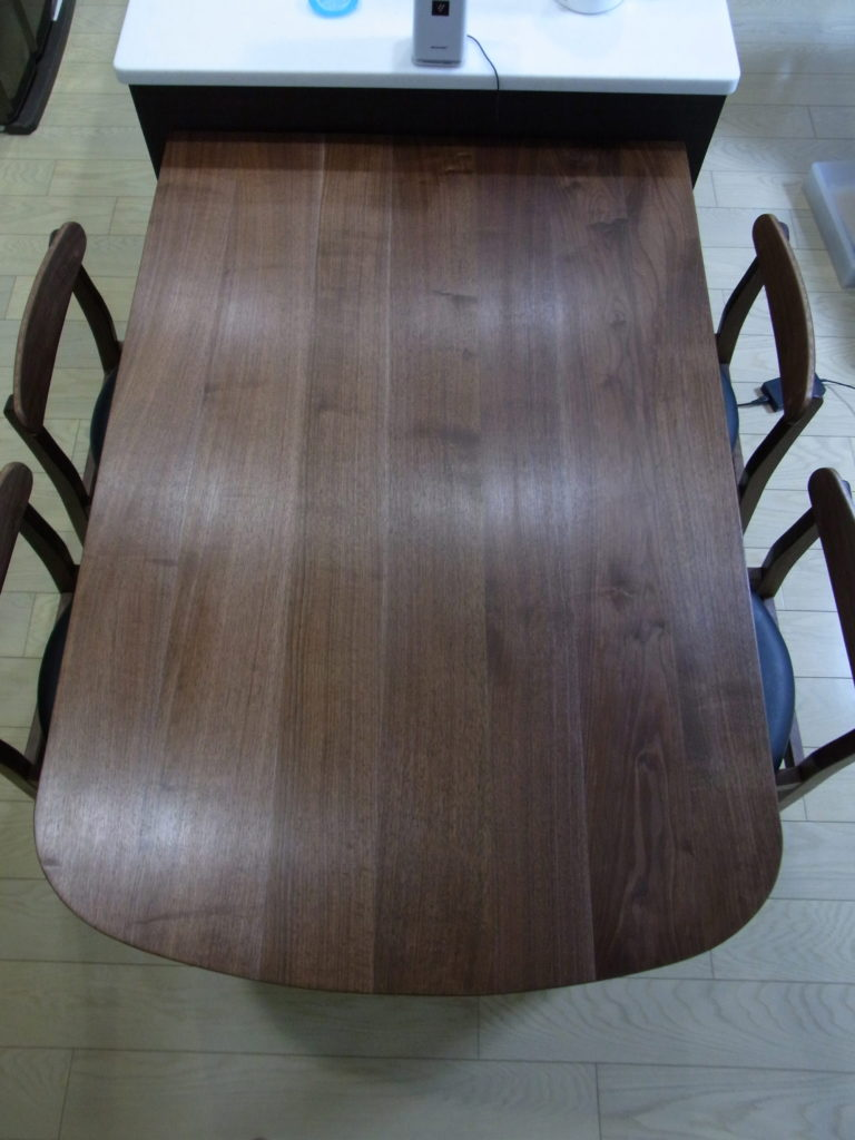 ウォールナット テーブル