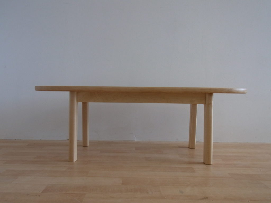 センターテーブル ハードメイプル