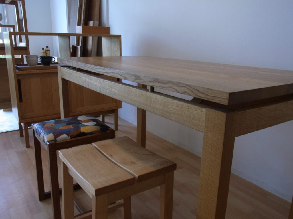 楢 テーブル 展示品