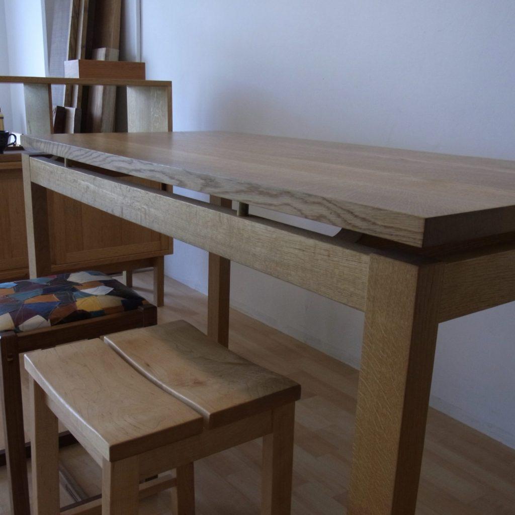 展示テーブル ナラ