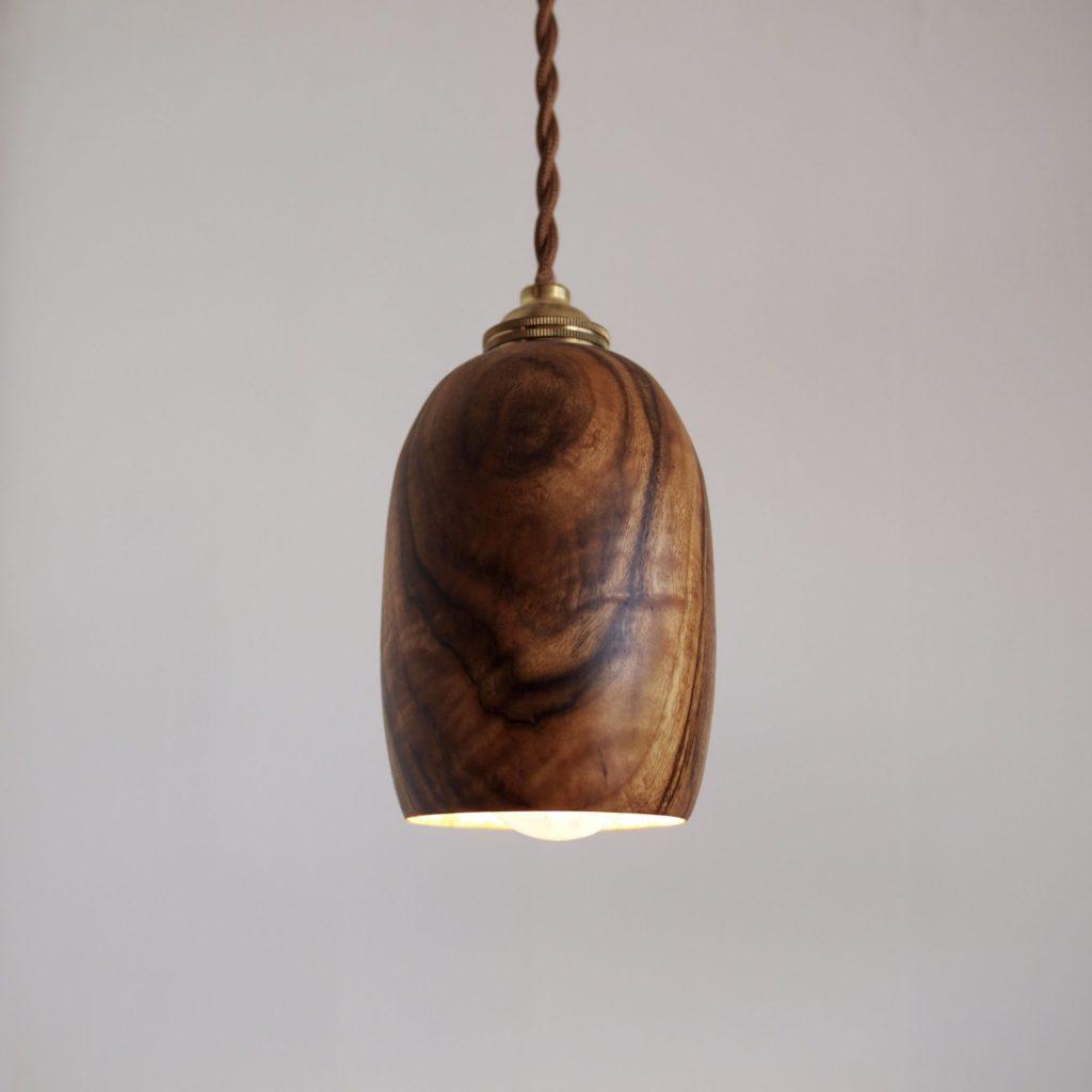 木のライト
