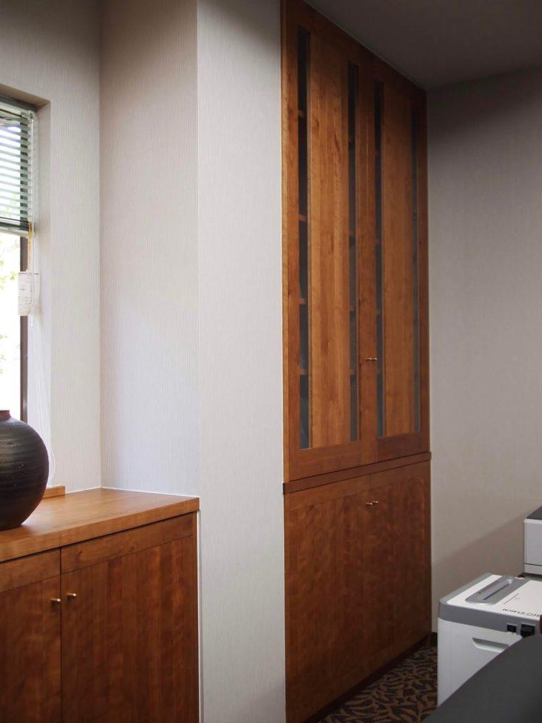 本棚 社長室