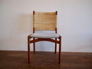 藤編み 椅子