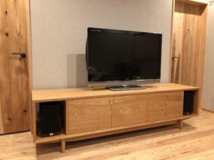 タモ テレビボード