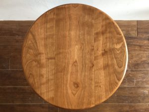 チェリー 天板 丸テーブル